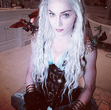 Madonna Dressed as Game of Thrones's Daenerys Targaryen for Purim