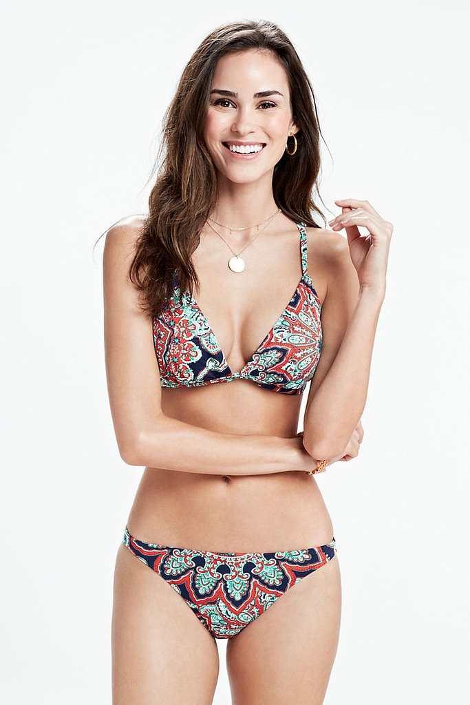 Lands' End Printed Bikini