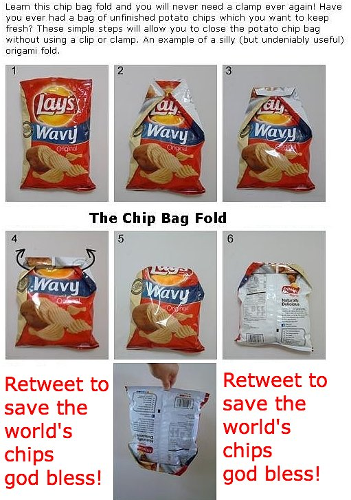 Closing a Bag of Chips