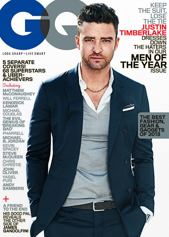 When he covered GQ like nobody's business.