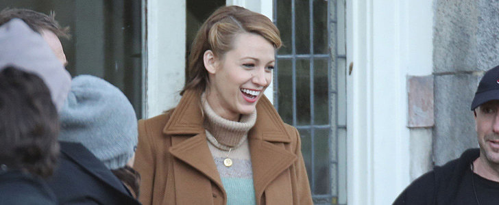Watch Out, Ryan Reynolds — Blake Lively Has a New Friend on Set