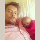 Josh Duhamel and his son, Axl, make one cute pair. Source: Instagram user joshduhamel