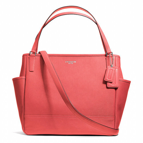 Coach Baby Bag Tote in Saffiano Leather