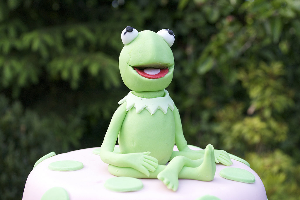 Kermit the Frog Cake Topper