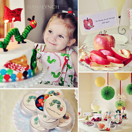A Party That Would Make Eric Carle Proud: The Very Hungry Caterpillar Birthday