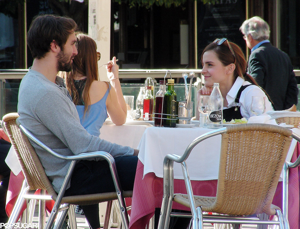 Emma Watson and Her Boyfriend Only Have Eyes For Each Other