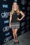 Heather Morris showed off her amazing postbaby body.