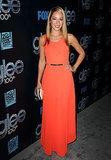 Vanessa Lengies rocked an orange dress that Sugar would love.