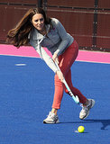 Kate Middleton at the Olympic Park in 2012