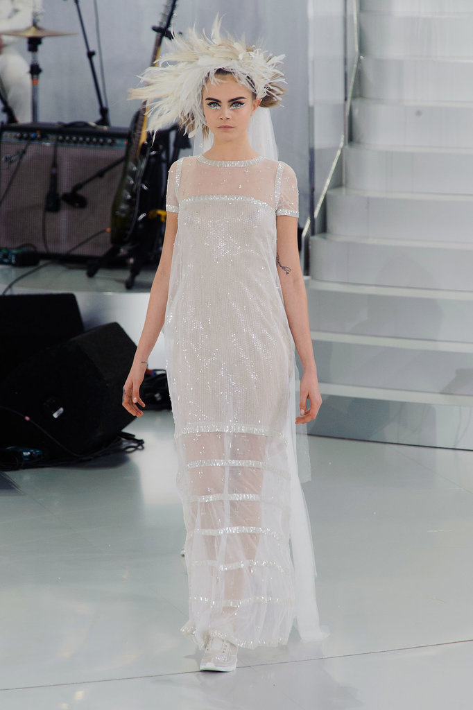 Cara Delevingne at Chanel Haute Couture Spring 2014