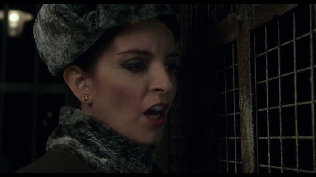 Tina Fey as a Russian Prison Guard