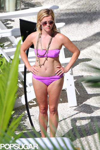 Reese Witherspoon wore a bikini in January 2014 when she visited Hawaii.