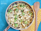 Creamy Pesto Pasta With Chicken and Broccoli