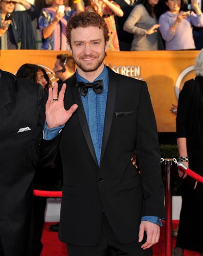 When he brought denim to the SAGs red carpet in 2010.