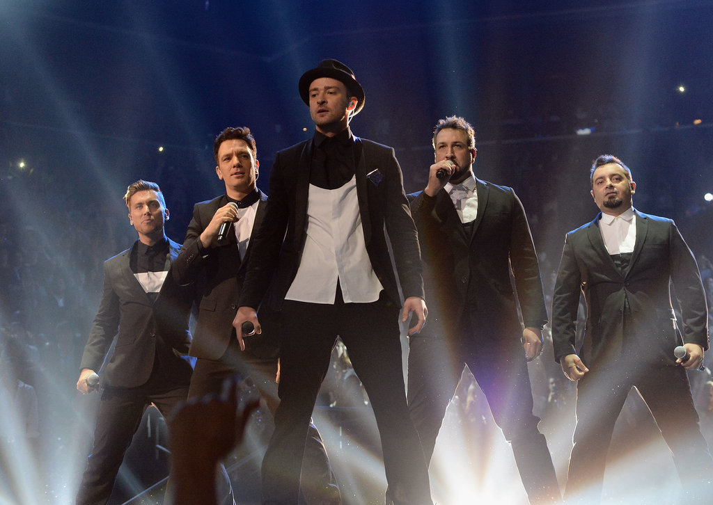 AND THE *NSYNC REUNION OF YOUR DREAMS CAME TRUE.