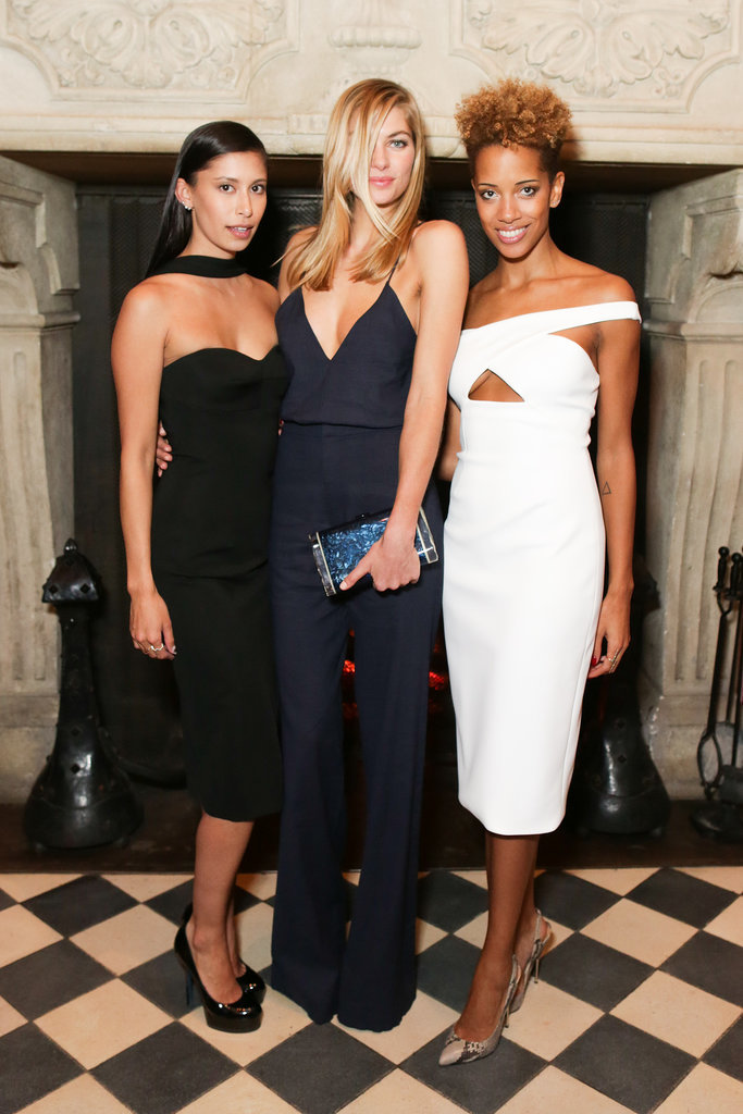 Michelle Ochs, Jessica Hart, and Carly Cushnie