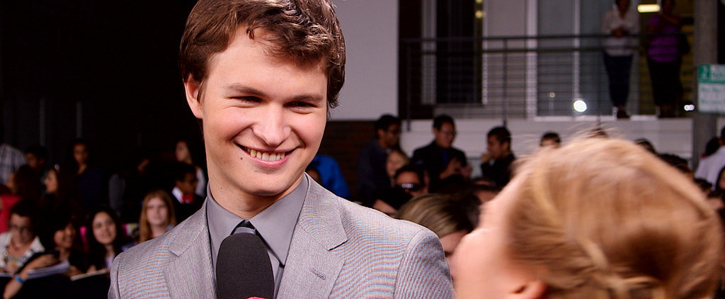 If You Didn't Already Love Ansel Elgort, You Will After This