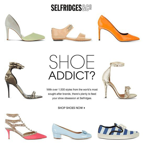Spring Summer Shoe Collection Selfridges