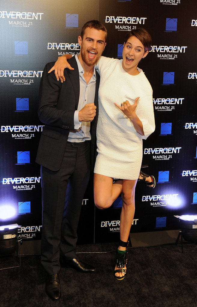 Shailene Woodley at the Atlanta Divergent Screening