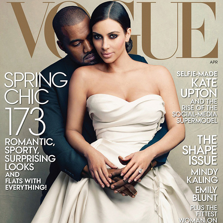 It's Finally Happened: Kim Kardashian's on the Cover of Vogue