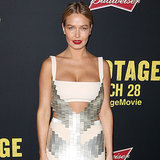 Lara Bingle Wearing Dion Lee at Sam Worthington's Premiere