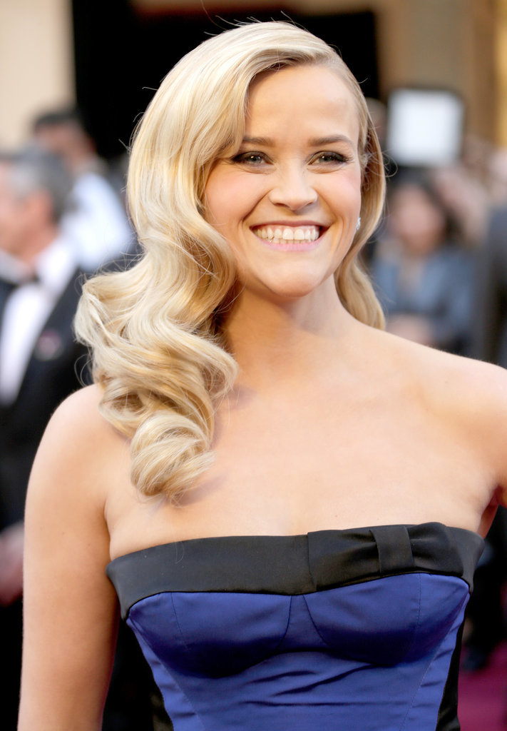 Reese had a blast at the 2013 Oscars in February in LA.