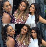 Kim Kardashian bei Baby-Party von Ciara