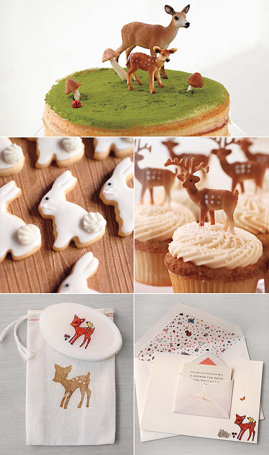 Martha stewart woodland forest baby shower popsugar moms - Baby shower decorations martha stewart ...