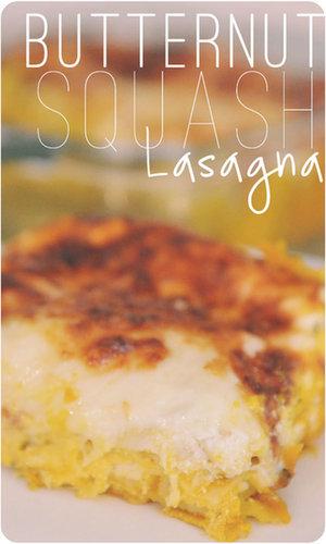 Butternut Squash Lasagna