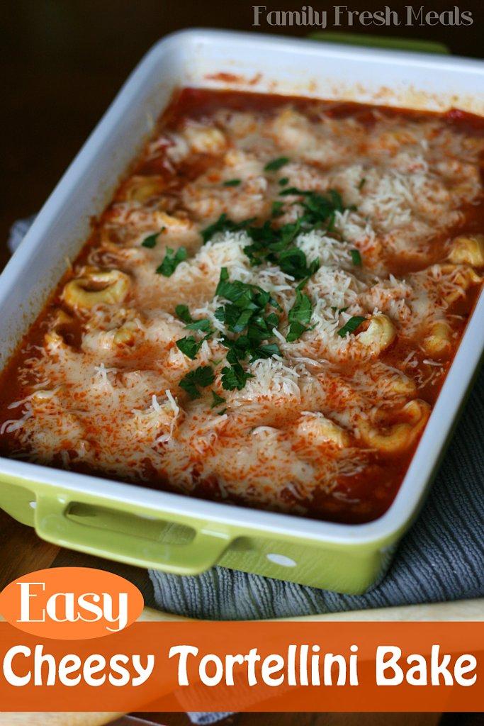 Cheesy Tortellini