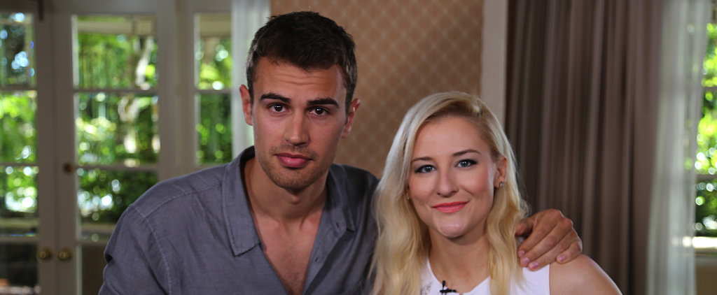 Divergent's Theo James Wants to Get a Tattoo Where?!