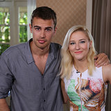 Theo James Divergent Interview | Video