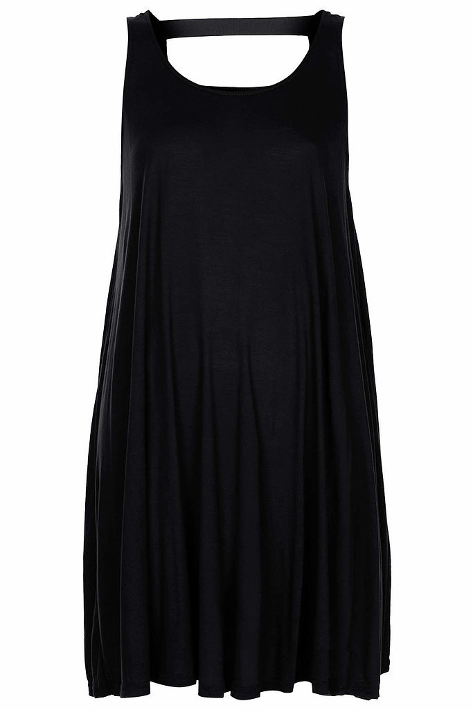 Topshop black mini trapeze dress ($36)