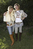 Sarah-Jane Clarke and Heidi Middleton at Sass and Bide's 2004 Summer Collection Launch