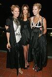 Sarah-Jane Clarke and Heidi Middleton with Miranda Kerr at 2008 Royal Australian Fashion Week