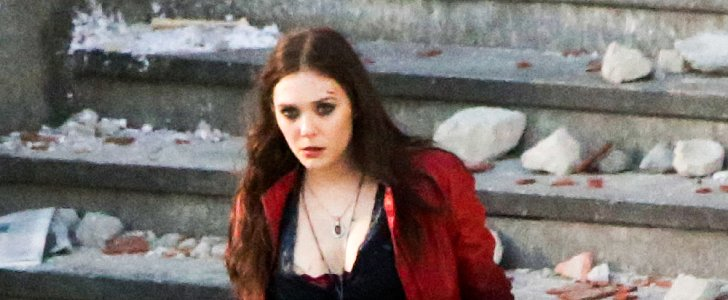 Avengers Alert! Get the First Look at Elizabeth Olsen and Aaron Taylor-Johnson