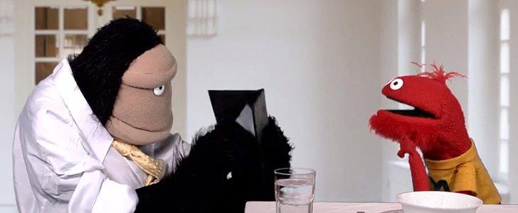 Puppets Teach Us Proper Restaurant Etiquette