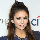 Pictures of Nina Dobrev's Hair and Bow at PaleyFest 2014
