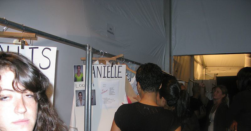 Backstage at Abaeté