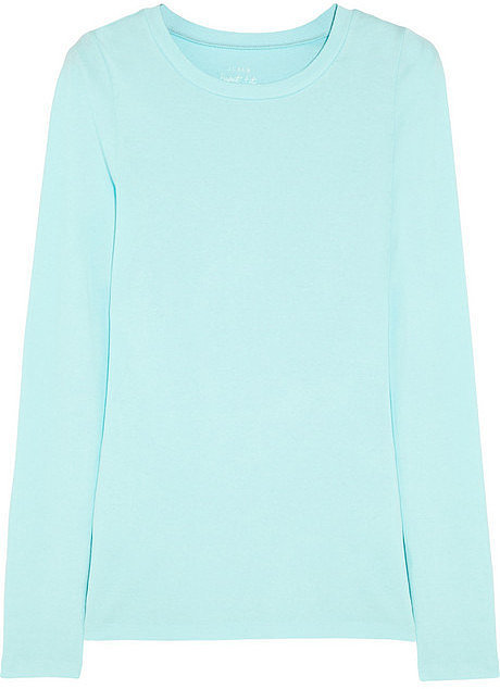 J.Crew Cotton Jersey Top ($27)
