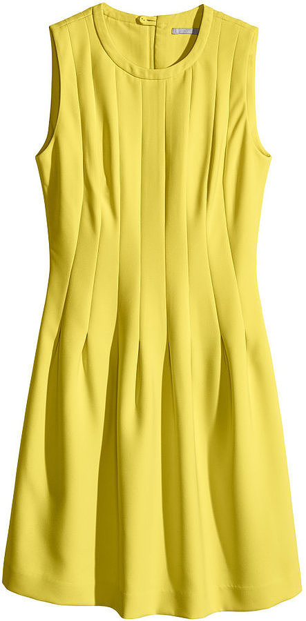 H&M Sleeveless Yellow Dress ($40)