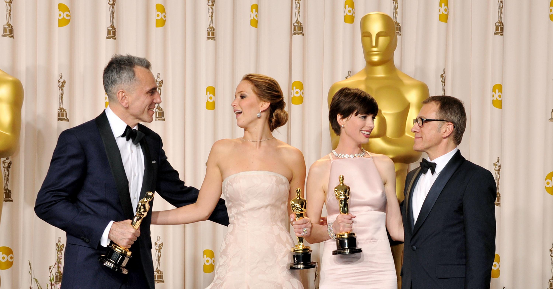 Jennifer Lawrence & Daniel Day-Lewis