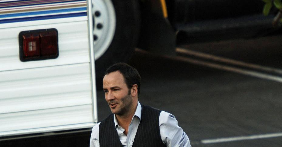 Tom Ford Is Not A Single Man, But That Doesn't Mean He Can't Have Fun with the Extras