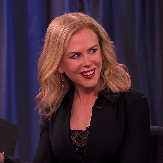 Nicole Kidman Lapdance on Jimmy Kimmel Live Video