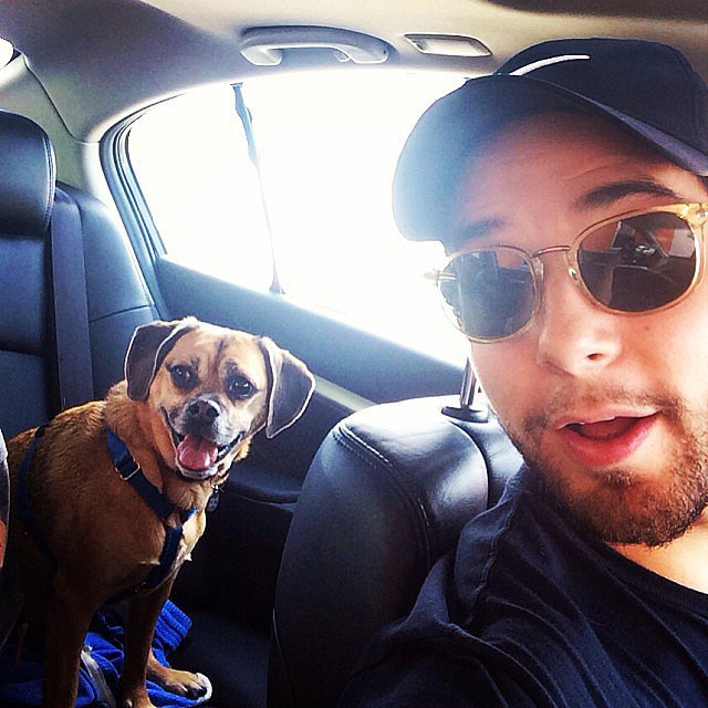Skylar Astin celebrated his dog Rocky's birthday with his girlfriend ...