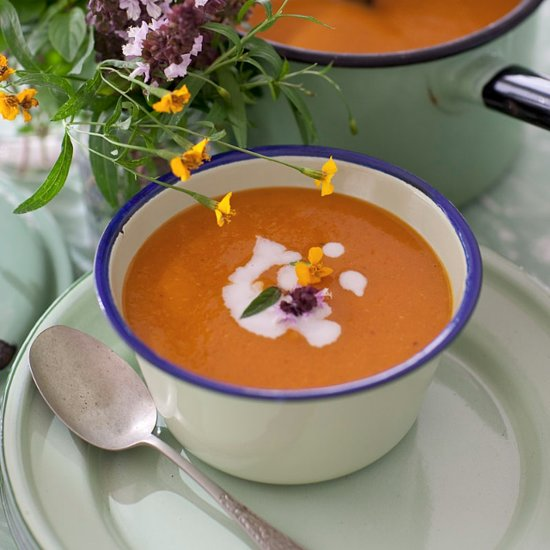 Belinda Jeffrey's Spicy Pumpkin, Ginger and Coconut Soup