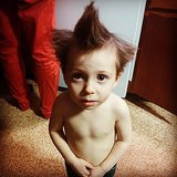 When You Put Product in Your Toddler's Hair