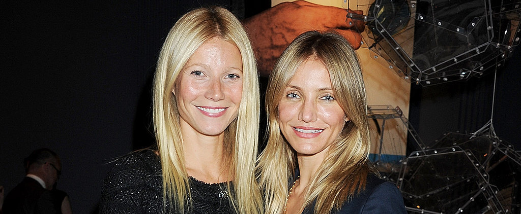 "Cameron Diaz on Gwyneth and Chris: ""They Worked Really Hard"""