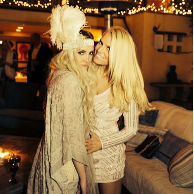 The Simpson Sisters Celebrate Ashlee's Engagement in Style