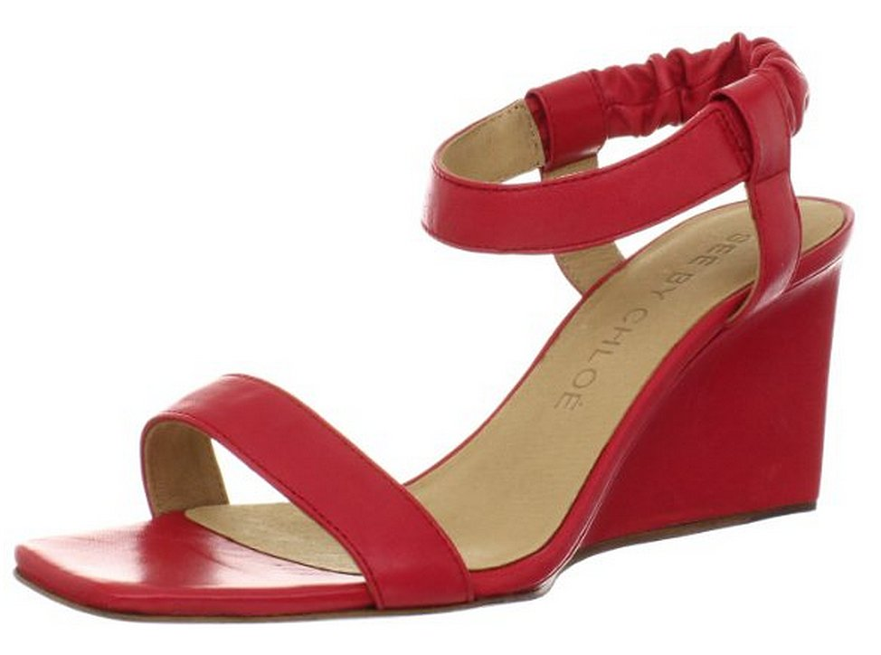 See by Chloe low red wedges ($89, originally $295)